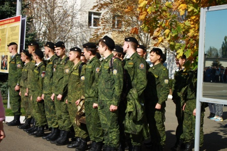 В Ставрополе  состоялся День призывника