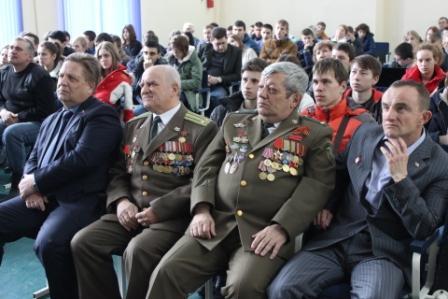 Урок мужества в Железноводске