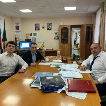 Встреча с главой Невинномысска Михаилом Миненковым