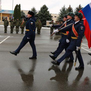 В Ставрополе отпраздновали 47-ю годовщину десантного полка