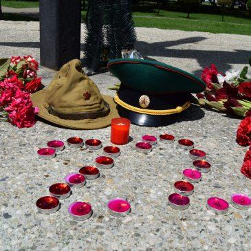 Ставропольское «БОЕВОЕ БРАТСТВО» приняло участие во всероссийских акциях «Свеча памяти» и «Минута молчания»